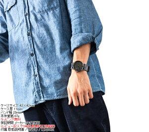 ニクソンNIXONセントリーレザーSENTRYLEATHER腕時計メンズガンメタル/ネイビーNA1051893-00