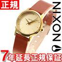 ニクソン NIXON ケンジレザー KENZI LEATHER 腕時計 レディース ゴールド/サドル NA3981425-00