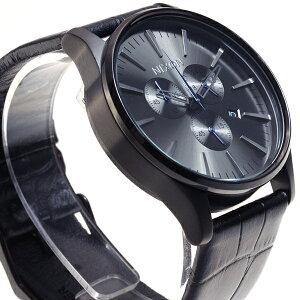 ニクソンNIXONセントリークロノレザーSENTRYCHRONOLEATHER腕時計メンズクロノグラフブラックゲーターNA4051886-00