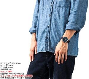 ニクソンNIXONセントリークロノレザーSENTRYCHRONOLEATHER腕時計メンズクロノグラフブラウンゲーターNA4051887-00