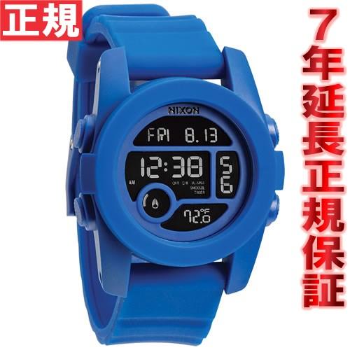 ニクソン NIXON ユニット40 UNIT 40 腕時計 メンズ/レディース コバルト デジタル NA490369-00 [正規品][送料無料][7年延長正規保証][ラッピング無料]おもい