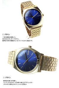 ニクソンNIXONタイムテラーTIMETELLER腕時計メンズオールライトゴールド/コバルトNA0451931-00