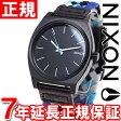 ニクソン NIXON タイムテラー TIME TELLER 腕時計 メンズ ブラック/ブルー/ウーベン NA0451936-00