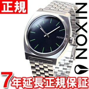 ニクソンNIXONタイムテラーTIMETELLER腕時計メンズミッドナイトブルー/ボルトグリーンNA0451981-00