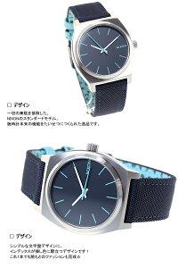 ニクソンNIXONタイムテラーTIMETELLER腕時計メンズネイビー/ペイズリードットNA0451985-00