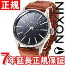 ニクソン NIXON セントリーレザー SENTRY LEATHER 腕時計 メンズ NA1051959-00 正規品 送料無料! ラッピング無料!