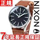 ニクソン NIXON セントリー38レザー SENTRY 38 LEATHER 腕時計 メンズ/レディース NA3771037-00 正規品 送料無料! ラッピング無料!