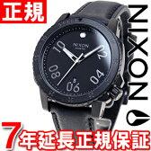 ニクソン NIXON レンジャーレザー RANGER LEATHER 腕時計 メンズ オールブラック NA508001-00【NIXON ニクソン】【正規品】【送料無料】【7年延長正規保証】【NIXON ニクソン NA508001-00】