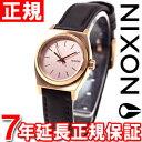 ニクソン NIXON スモールタイムテラーレザー SMALL TIME TELLER LEATHER 腕時計 レディース オールローズゴールド/ブラック NA5...