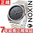 ニクソン NIXON タイムテラー TIME TELLER 腕時計 メンズ グレイ/ローズゴールド NA0452064-00