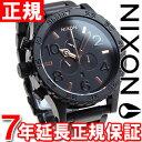 ニクソン NIXON 51-30クロノ 51-30 CHRONO 腕時計 メンズ クロノグラフ オールブラック/ローズゴールド NA083957-00