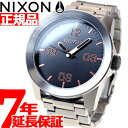 ニクソン NIXON コーポラルSS CORPORAL SS 腕時計 メンズ グレイ/ローズゴールド NA3462064-00