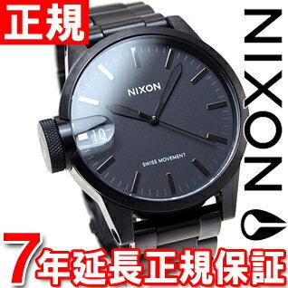 ニクソン NIXON クロニクル44 CHRONICLE 44 腕時計 メンズ ブラック/ガンメタル NA4411420-00