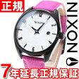 3000円クーポン!10月24日9時59分まで!ニクソン NIXON ブレットレザー BULLET LEATHER 腕時計 レディース ブラック/ホットピンク NA4732049-00【あす楽対応】【即納可】
