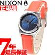 ニクソン NIXON スモールタイムテラーレザー SMALL TIME TELLER LEATHER 腕時計 レディース ネイビー/ブライトコーラル NA5092077-00【正規品】【7年延長正規保証】