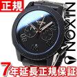 ニクソン NIXON レンジャークロノ RANGER CHRONO 腕時計 メンズ クロノグラフ オールブラック/ローズゴールド NA549957-00