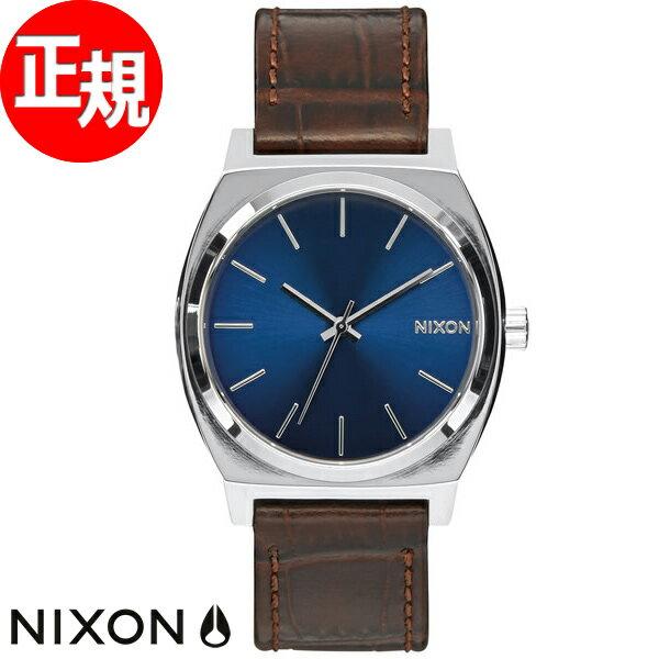 ニクソン NIXON タイムテラー TIME TELLER 腕時計 メンズ ブラウンゲーター NA0451887-00【2016 新作】 [正規品][送料無料][7年延長正規保証][ラッピング無料]