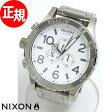 ニクソン NIXON 51-30 クロノ 腕時計 ニクソン 51-30 クロノ NA083488-00 ハイポリッシュ/ホワイト【正規品】【送料無料】【楽ギフ_包装】【楽天BOX受取対象商品】