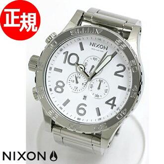 51-30 51-30 Nixon NIXON Kurono watch Nixon Kurono NA083488-00 sodium thiosulfate Risch / white