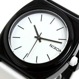 NIXON腕時計TTP(TIMETELLERP)NA119005-00ブラック/ホワイトニクソン