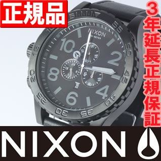 Nixon 51-30 NIXON THE 51-30 CHRONO LEATHER watch men new