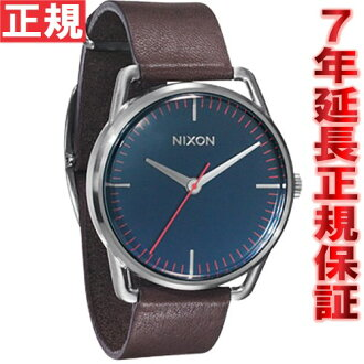 Nixon NIXON watches mens THE MELLOR Mellor Navy / Brown NA129879-00
