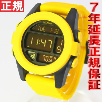Nixon NIXON UNIT unit watches yellow black NA197887-00