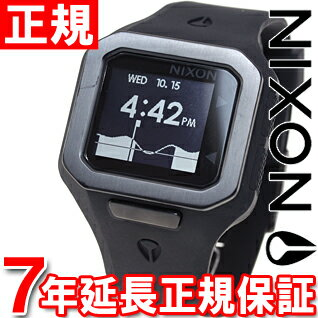 Nixon NIXON supermarket tide SUPERTIDE watch men oar black NA316001-00