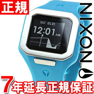 Nixon NIXON スーパータイド SUPERTIDE watch men's sky blue NA316917-00