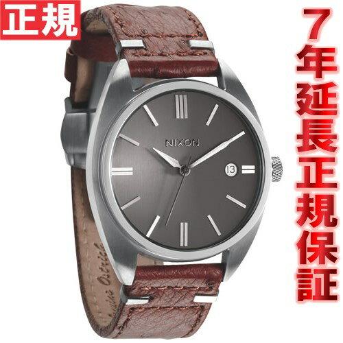 ニクソン NIXON スプレマシー SUPREMACY 腕時計 メンズ ブラウン/ガンメタルダイアル NA353400-00 [正規品][送料無料][7年延長正規保証][ラッピング無料]【偉い】