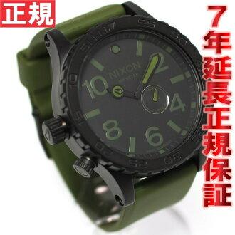 Nixon NIXON 51-30 PU watch-men's matte black / surplus NA0581042-00