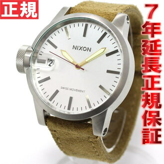 Nixon NIXON Chronicle CHRONICLE watch men's desert suede NA1271261-00