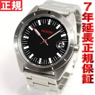 Nixon NIXON Rover SS ROVER SS watch-men's black / red NA359008-00