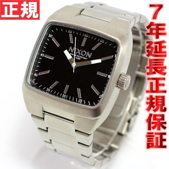 Nixon NIXON manual MANUAL watch mens black NA244000-00