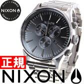 【2000円クーポン!12月12日9時59分まで!】ニクソン NIXON セントリークロノ SENTRY CHRONO 腕時計 メンズ クロノグラフ ブラック NA386000-00【あす楽対応】【即納可】