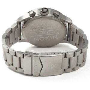 ニクソンNIXONセントリークロノSENTRYCHRONO腕時計メンズクロノグラフブラックNA386000-00
