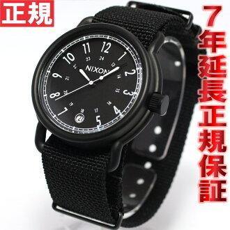 Nixon NIXON axe, AXE watch mens all black nylon NA3221148-00