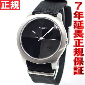 Nixon NIXON クワッド QUAD watch men black NA344000-00