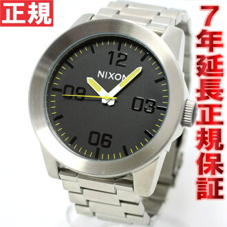 Nixon NIXON corporal SS CORPORAL SS watch men's Grand Prix NA3461227-00