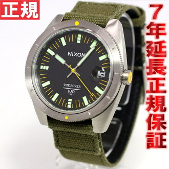 Nixon NIXON Rover ROVER watch mens surplus / black NA3551089-00