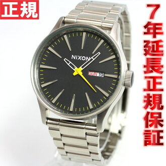 Nixon NIXON sentry SENTRY SS SS watch men's Grand Prix NA3561227-00