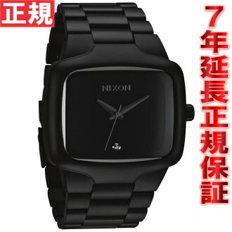 Nixon NIXON ビックプレイヤー BIG PLAYER watch men's matte black NA487524-00