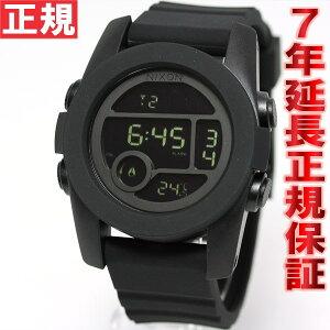 ニクソンNIXONユニット40UNIT40腕時計デジタルオールブラックNA490001-00