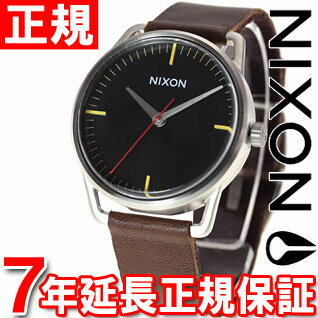 Nixon NIXON Mellor MELLOR watch mens black / brown NA129019-00