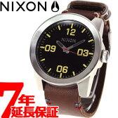 【1000円クーポン!12月12日9時59分まで!】ニクソン NIXON コーポラル CORPORAL 腕時計 メンズ ブラック/ブラウン NA243019-00