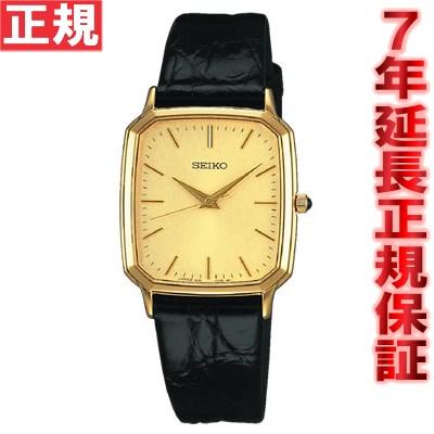セイコー ドルチェ&エクセリーヌ 腕時計 薄型ペア SEIKO DOLCE&EXCELINE ゴールド SACM154 [正規品][送料無料][7年延長正規保証][ラッピング無料]セイコー レトロ 腕時計