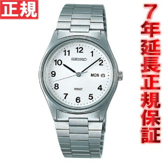 SEIKO spirit watch SEIKO SPIRIT white SCDQ007