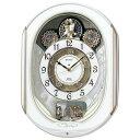 セイコー SEIKO 電波クロック 掛け時計 電波時計 からくり時計 ウエーブシンフォニー Wave Symphony RE565H