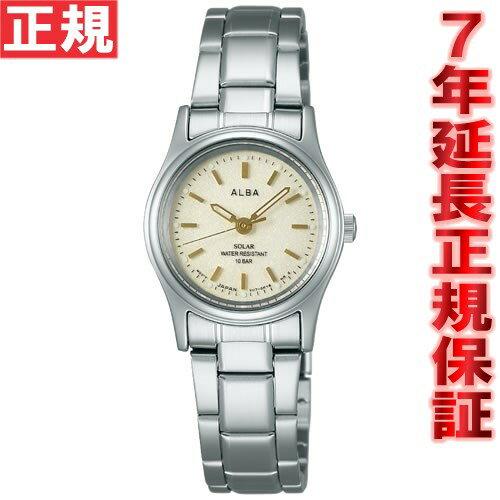 セイコー アルバ SEIKO ALBA ソーラー 腕時計 レディース ペアウォッチ AEGD542