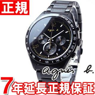 アニエスベー agnes b. 腕時計 メンズ マルセイユ クロノグラフ FBRV959 [正規品][7年延長正規保証][送料無料][ラッピング無料][サイズ調整無料]